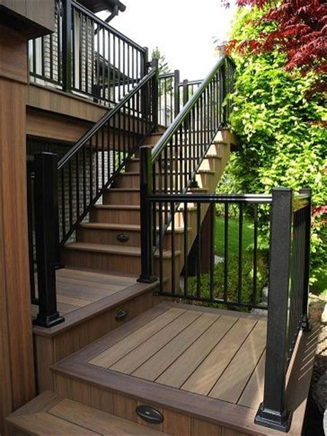 Deck Baluster Spacing Ontario by 99 Best Deck Stairs Images On