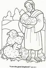 Coloring Shepherd Lord Pages Popular sketch template