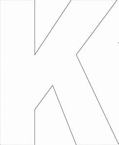 25 best ideas about alphabet templates on pinterest With large letter k