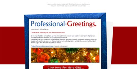 christmas sms for professional professional greetings newsletter email by owltemplates themeforest
