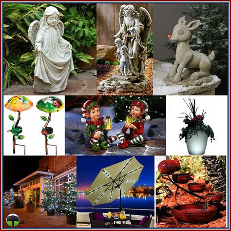 outdoor solar powered decorations  christmas