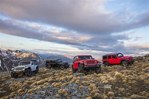 2018 Jeep Lineup by Fca Sets A Monthly Jeep Wrangler Sales Record In March