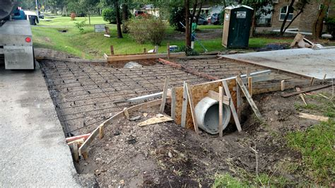 concrete driveway drainage drainage ditches swales and culvert installation elite excavation and bulkheads