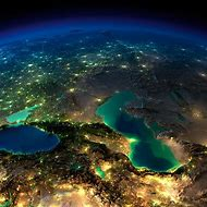Planet Earth From Space at Night