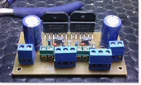diy hifi gainclone power amplifier xw class ab