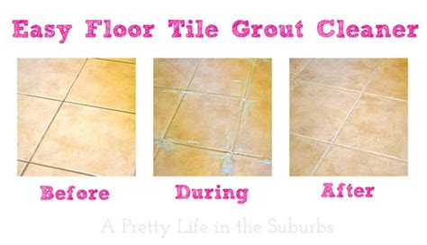 how to clean tile and grout easy floor tile grout cleaner a pretty in the suburbs