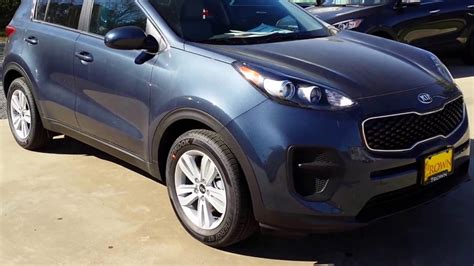 Crown Kia by 2017 Kia Sportage Lx Exterior Highlights Crown