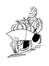 Colorir Agricultor Colorear Colorare Contadino Disegni Coloring Desenhos Agricultura Disegno Fazendeiro Desenho Dibujos Dibujo Pitchfork Tagliaerba Farmer Tractor Imprimir Kleurplaat sketch template