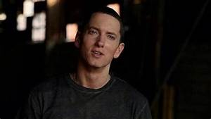 Why don't we see Eminem laughing ever, except in his videos?