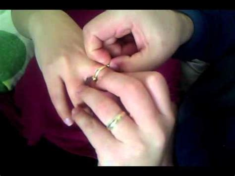 how to remove a wedding ring youtube
