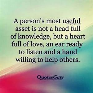 Best 25+ Helpin... Supporting Someone Quotes