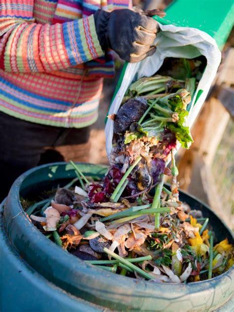 compost kitchen waste hgtv