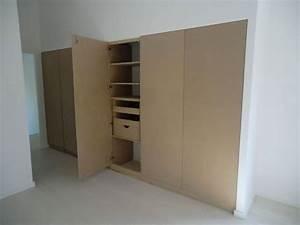 Fabriquer Sa Porte Coulissante Sur Mesure : construction d 39 un placard sur mesure am nagement d co ~ Premium-room.com Idées de Décoration