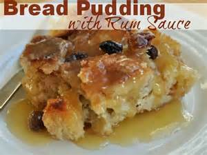 Bread Pudding with Rum Sauce Recipe