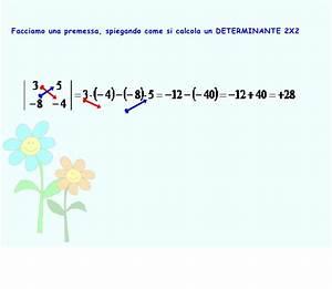 Determinante Berechnen 2x2 : i sistemi lineari ~ Themetempest.com Abrechnung