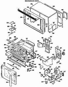 Microwave Oven Diagram  U0026 Parts List For Model Jkp61g01 Ge