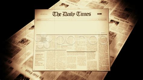 Newspaper Template For Powerpoint