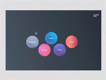 Train Touch Dribbble Table Ui