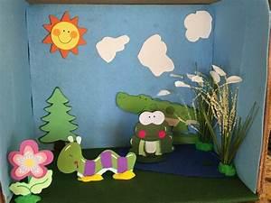 Second Grade Food Chain Diorama