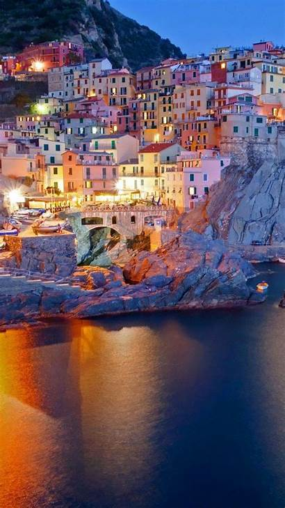 Italy Wallpapers Manarola Italian Mobile Coast Iphone