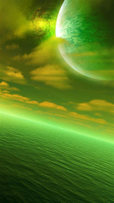 Alien Sea 001 Wallpaper For 1080x1920 Mobile Devices