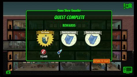 Fallout Shelter Game Show Gauntlet (Weekly Quest) YouTube