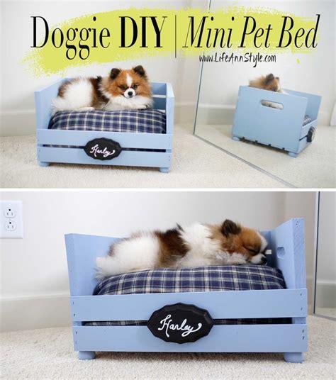 16 Adorable DIY Pet Bed Ideas - Style Motivation