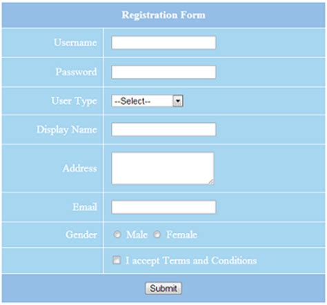 php form validation phppot