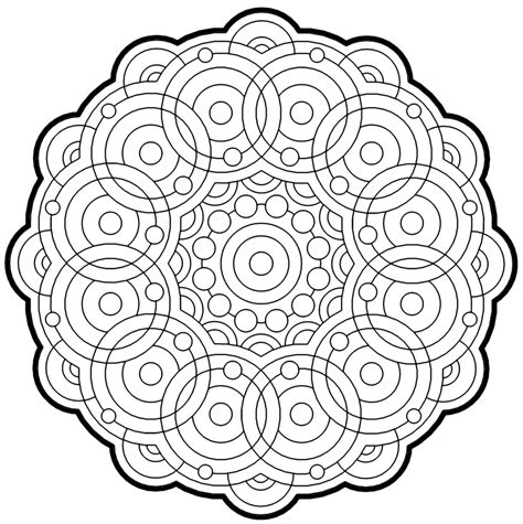 fractal coloring pages bestofcoloringcom
