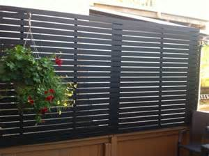 Deck Privacy Screen Ideas