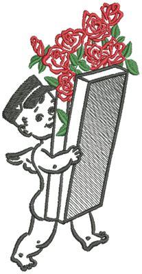 10534 Valentine Machine Embroidery Set