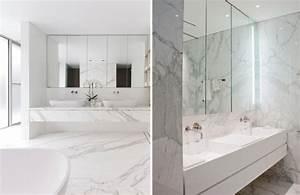 Fliesen Bad Weiß : marmor im bad vor und nachteile der marmorfliesen ~ Markanthonyermac.com Haus und Dekorationen