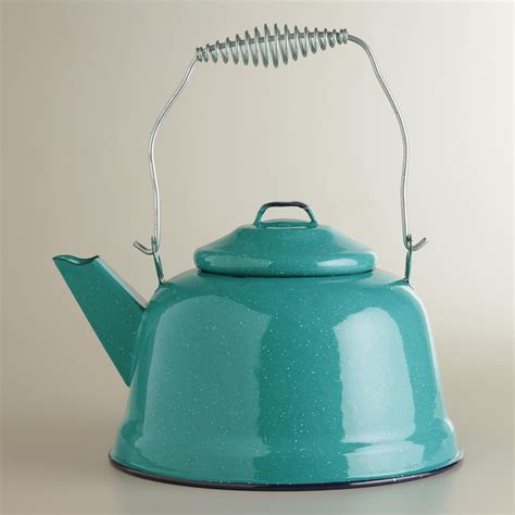 Kitchen Living Tea Kettle by Crafted Of High Quality Steel With A Heavy Enamel Glaze