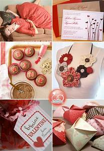 brown and red valentine39s day inspiration board With valentine wedding shower ideas