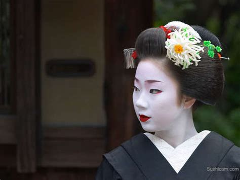 The Intricate Hairstyles Of Geisha