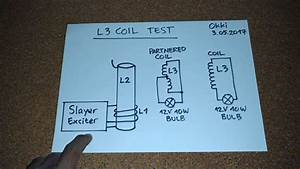 4x Slayer Exciter - Receiver Coil Test