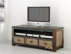 Tv Möbel Vintage : lowboard 150x60x55 cm mango metall tv m bel tv schrank used look vintage punjab ebay ~ Sanjose-hotels-ca.com Haus und Dekorationen
