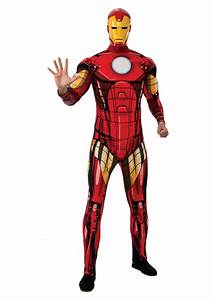 Adult Deluxe Iron Man Costume
