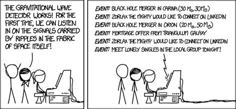 gravitational waves explain xkcd
