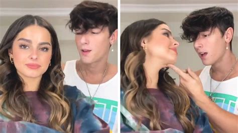 Hall is part of one of tiktok's most famous influencer houses, living with a few other boys who had all been accused of cheating on their. Addison Rae And Bryce Hall: Are They Rekindling Their Romance? PDA Picture Surface On The ...