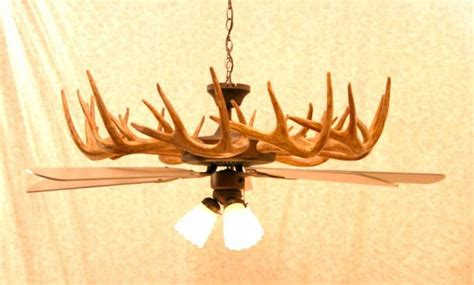 deer antler ceiling fan for sale antler chandeliers and antler lighting warehouse
