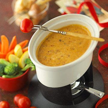 mexican fondue holiday appetizer buffet recipes