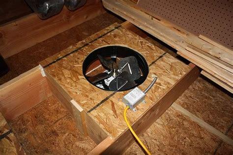 attic roof fan replacement do you still believe in garage attic fan