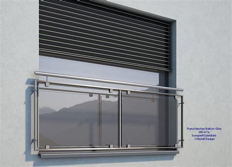 Sicherheitsglas Für Balkon by Franz 246 Sischer Balkon Glas Md07ap Edelstahl Deutschland