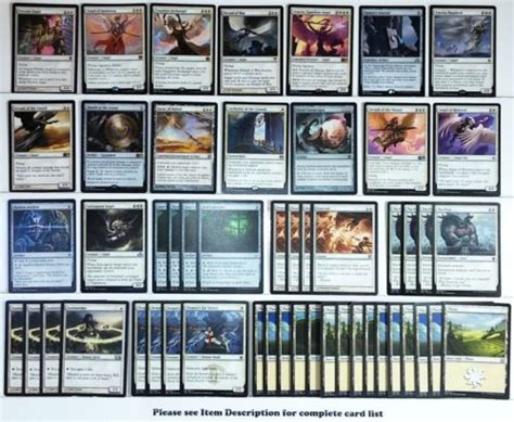 mtg white deck modern 17 best images about magic the gathering decks on
