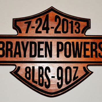 Harley Davidson Signs Decor by Shop Custom Carved Wood Signs On Wanelo