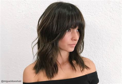 Hairstyles For Hair With Bangs And Layers by 18 Layered Haircuts With Bangs For 2019
