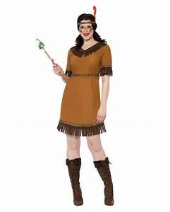 Indianer Damen Kostüm : indianer squaw kost m g nstiges indianerin kost m karneval universe ~ Frokenaadalensverden.com Haus und Dekorationen