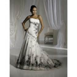 white dress wedding black and white wedding dresses dresses trend