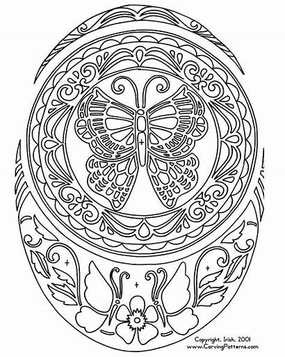 Coloring Pages Patterns Pyrography Wood Carving Burning